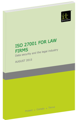 Securing the modern law firm with ISO 27001.