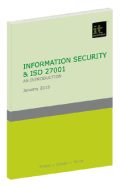 Information Security & ISO 27001: An introduction