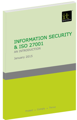 Information Security & ISO 27001: An introduction.