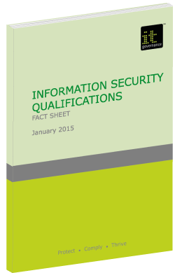 infosec qualifications green paper