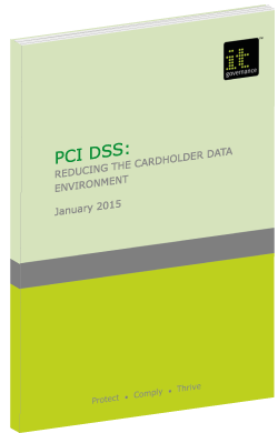 PCI DSS reducing the cardholder environment green paper