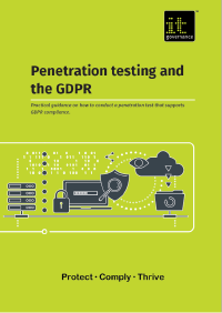 Penetration testing and the GDPR