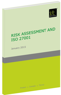 Risk assessment and ISO27001 Green paper