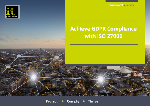 GDPR compliance and ISO 27001