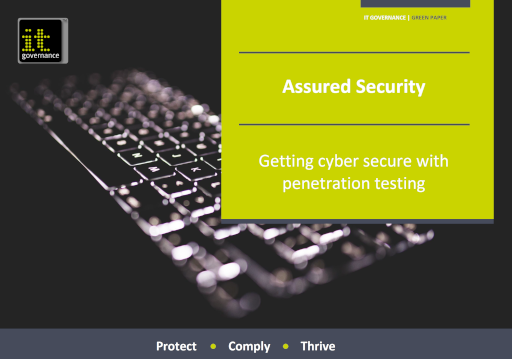 Assured Security–Getting cyber secure with penetration testing