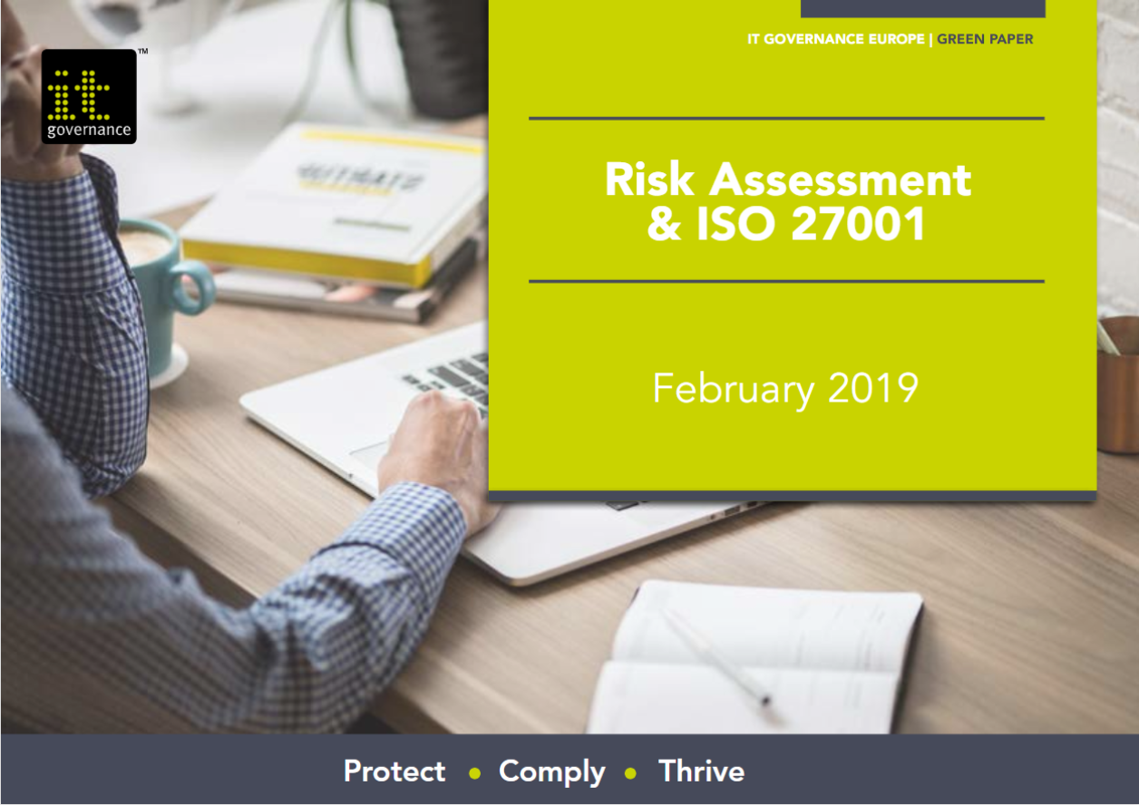Risk Assessment & ISO 27001 - Free download
