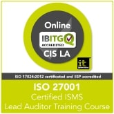 ISO27001 Certified ISMS Lead Auditor Online (CIS LA)