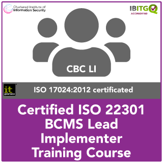 Certified ISO 22301 BCMS Lead Implementer Training Course