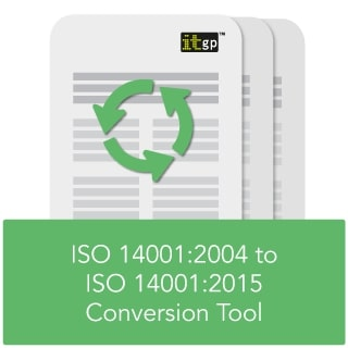 ISO 14001:2015 transition tool