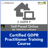 Certified EU General Data Protection Regulation (GDPR) Practitioner Distance Learning Training Course and Exam (Pre-Order)