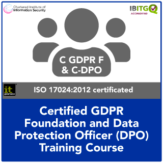 Certified GDPR Foundation and Certified Data Protection Officer (C-DPO) Combination Training Course | IT Governance EU