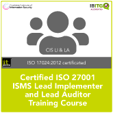 Certified ISO 27001 Lead Implementer and Lead Auditor Combination Training Course