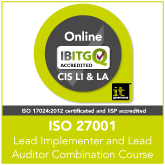 Certified ISO 27001 ISMS Lead Implementer and Lead Auditor Live Online Combination Training Course