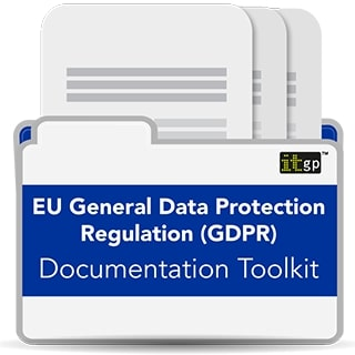 EU General Data Protection Regulation (GDPR) Documentation Toolkit